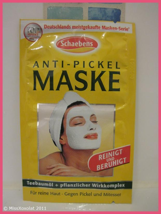 test schaeben 39 s anti pickel maske missxoxolat 39 s. Black Bedroom Furniture Sets. Home Design Ideas