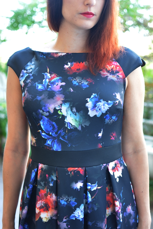 Black Floral Dress_06