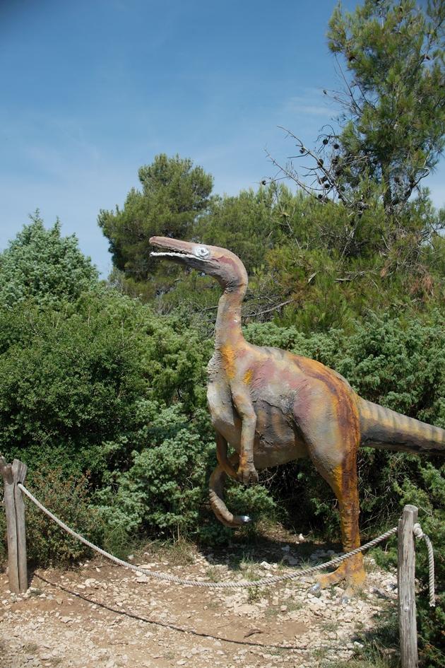 Kap Kamenjak_Dinosaurier_Istrien_Kroatien
