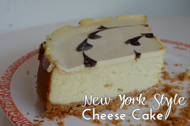 New York Style Cheese Cake 01
